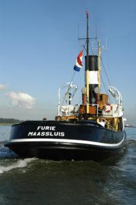 Foto: Met volle kracht vooruit. Foto: archief Stichting Hollands Glorie.